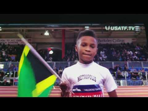 THE FASTEST KID IN THE WORLD
