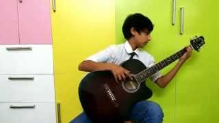 Best Guitar player ever - 2015...........Must watch !!! (covered gratitude) [FULL HD]