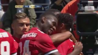 Jesse Lingard Goal Manchester United Real Madrid - Amazing Assist Anthony Martial (HD)