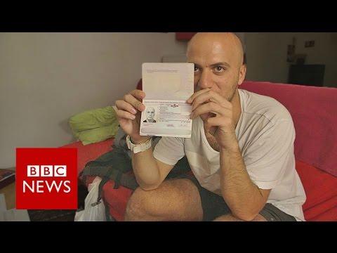Xxx Mp4 Exodus I Tried To Fly To London On A Fake Passport BBC News 3gp Sex