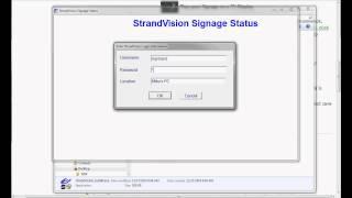 Install StrandVision's Free Digital Signage Windows Software