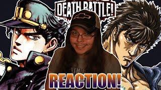 Manime VS Manime! JOTARO VS KENSHIRO | DEATH BATTLE!