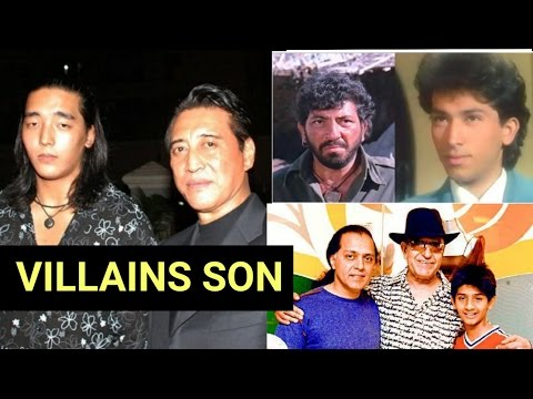 Top 10 Star Kids Of Popular Villains Of Bollywood