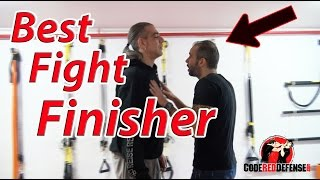 Best Fight Finisher against a Taller Attacker