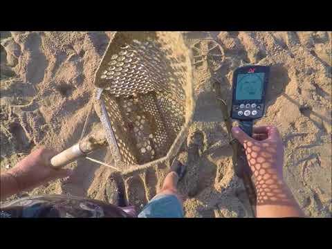 Beach Metal Detecting California 7 6 18