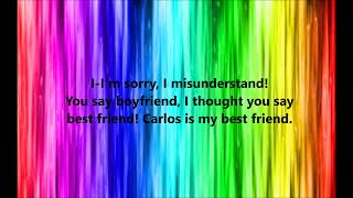Legally Blonde - There! Right There! (Gay or European) Lyrics