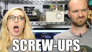 All the SCREW-UPS From Our Nintendo Show | #5facts