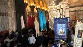 Messina -Processione Madonna della Lettera - filmato 6