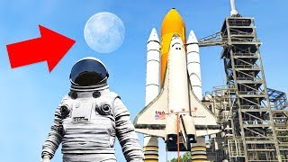 GOING TO SPACE IN GTA! (Gta 5 Mods)