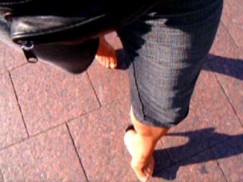 Clear platform high heels