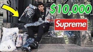 Supreme x CDG Drop I SPENT $10,000 *NO JOKE*