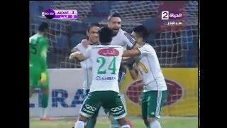 4 اهداف رائعة فى مباراة المصرى VS انبي 4 / 0 ... الدورى المصرى 2015 / 2016