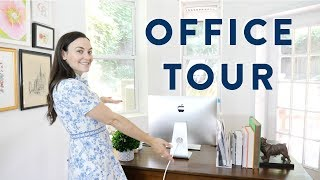 HOME OFFICE TOUR // My New Office as a Full Time Blogger