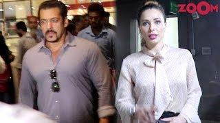 Salman Khan & Iulia Vantur Spotted At Mumbai Airport | Bollywood News