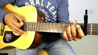 """AE MERE HUMSAFAR - ROMANTIC BOLLYWOOD SONG """"COMPLETE GUITAR COVER LESSONS"""" AND CHORDS"""