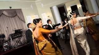 wedding dance (group) @ viraj and dinusha's wedding.