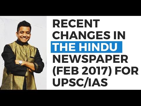 Xxx Mp4 Recent Changes In The Hindu Newspaper Feb 2017 Strategy UPSC CSE IAS Roman Saini 3gp Sex