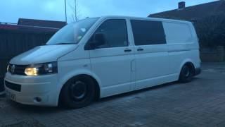 Vw t5 on airride