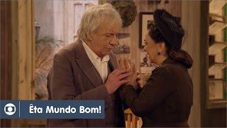Êta Mundo Bom!: capítulo 103 da novela, segunda, 16 de maio, na Globo