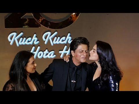 Xxx Mp4 Kajol And Rani KISS Shahrukh Khan😘😍 SRK GRAND ENTRY Kuch Kuch Hota Hai 20 Years Celebration 3gp Sex