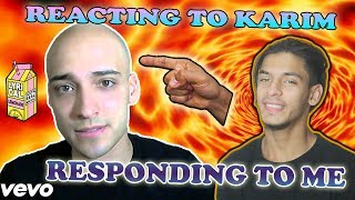 Karim Jovian From AreWeFamousNow Reacted to My DissTrack