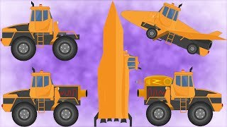 Kids TV Channel | Transformer | Space Cleanup Mission | Futuristic Vehicles | Video For Babies