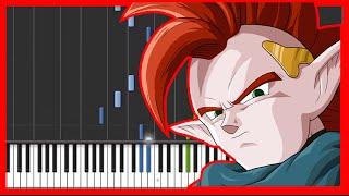Dragon Ball Z - tapion's theme-{easy piano tutorial}-(Synthesia) HD