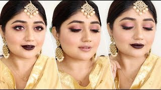Indian festive Makeup for Diwali 2017   corallista