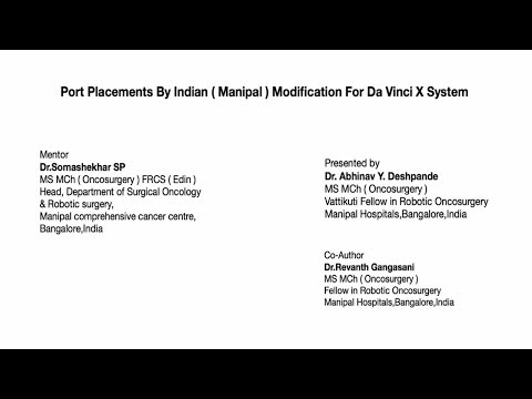 Xxx Mp4 Port Placements By Indian Manipal Modifiction For Da Vinci X Surgical System 3gp Sex