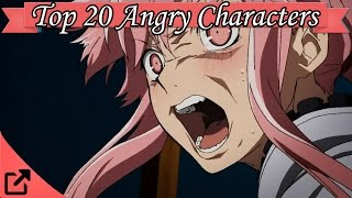 Top 10 Angry Anime Characters