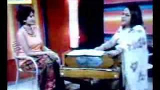 SabinaYasmin Live on TaraT.V ( Dukho Amar Basor Raater Palonko).