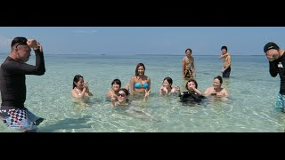 Meeting Hot Japanese Girls?! ( Cebu Island Hopping Part 2 - Nalusuan) 일본 여성들과의 인기투표!