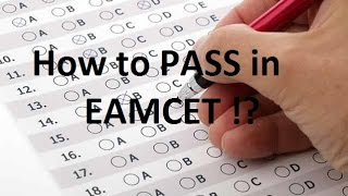 How To PASS in EAMCET