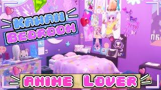 The Sims 4: Room Build | Kawaii Anime Bedroom
