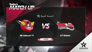 SKT vs KT Highlights Game 4 Playoffs Round 2 LCK Summer 2016 SK telecom T1 vs KT Rolster G4