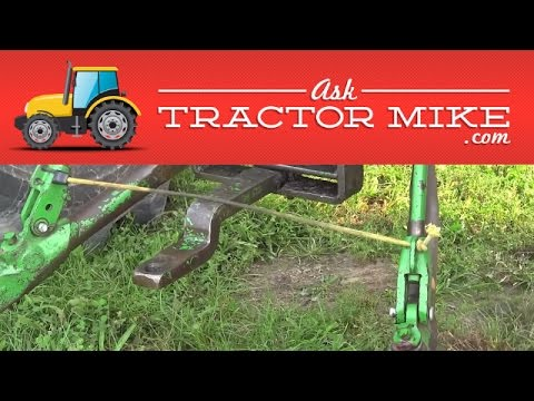 How to Adjust Tractor Stabilizers