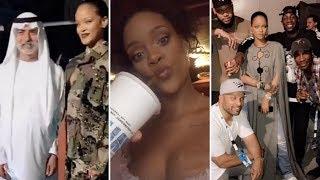 Rihanna | Snapchat Videos | August 2017