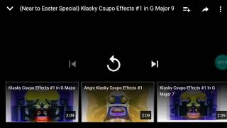 Klasky csupo effects #1 in g major 9 Reversed