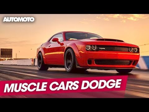 Muscle Cars une épopée américaine