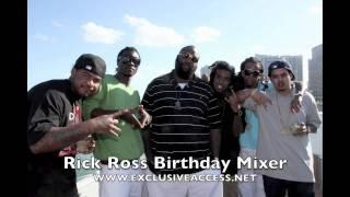 Rick Ross Birthday Mixer