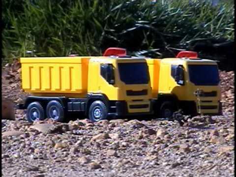 Miniaturas Caminhão Reportagem