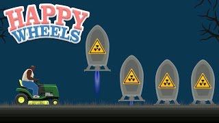 Happy Wheels:  Dodge the NUKES!!! - Part 489
