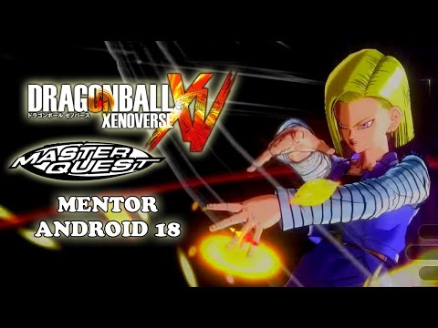 Mentor Android 18 Master Quest Training Dragon Ball Xenoverse