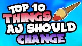 Top 10 Things Animal Jam Should Change