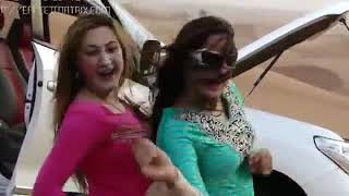 Latest pashto dance Nadia gull and urooj mahmand
