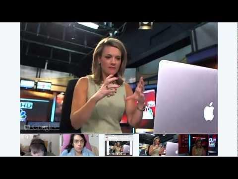 Cameraman App Demonstration on Google Plus Hangouts On Air