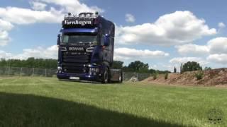 Das ist der Showeffekt ! only Scania V8