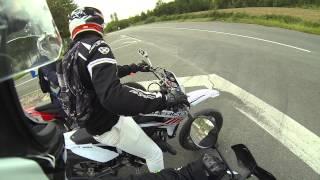 GoProHD: première balade en 50cc avec les potes ( DERBI / SHERCO / RIEJU )