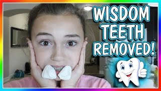 KAYLA GOT HER WISDOM TEETH REMOVED! | DOES IT HURT? | We Are The Davises