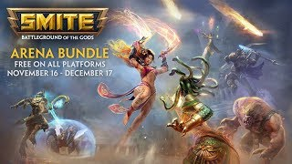 SMITE - Arena Bundle FREE on PlayStation 4, Xbox One, and Steam!